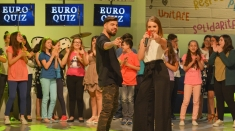 Ilinca Băcilă şi Alex Florea, de la Finala Eurovision la Finala Euro Quiz