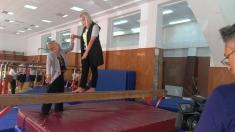 Gimnasta Sonia Iovan, la 81 de ani - lecţii de viaţă la