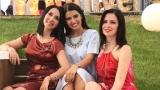 Emma, Teodora, Iulia şi alte vedete din TVR - clipe de destindere la piscină
