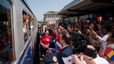 """""""Ora Regelui"""" de la TVR 1: Pe drumul recunoştinţei, cu trenul regal"""