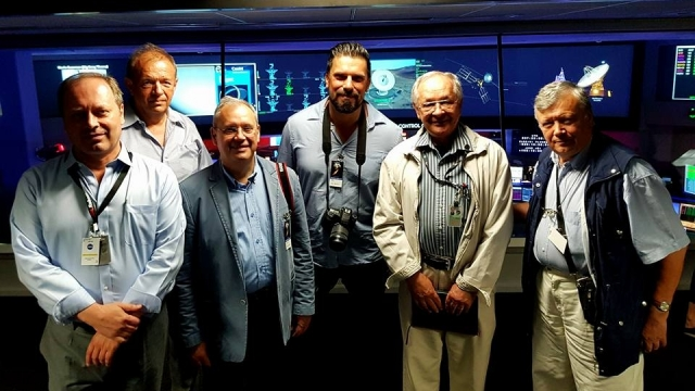 Prunariu si Mironov la NASA