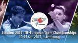 Turneul final al Campionatelor Europene de Tenis de Masă, la TVR 2 și TVR HD