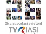TVR Iaşi aniversează în luna noiembrie 26 de ani de televiziune regională