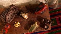 Rețeta lui Dinescu: Vrăbioară pitulată după legume
