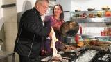 De pe Coasta de Azur, în bucătăria lui Dinescu