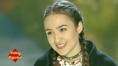 """Fata popii din Plopiş, a şasea semifinalistă """"Vedeta populară"""""""
