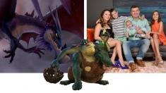"""Dorin Chioțea: """"Nu mi-am închipuit vreodată că o să mă transform în dragon"""""""