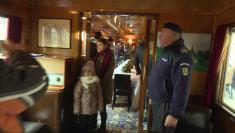 Trenul Regal, în gara