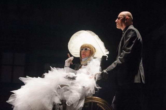 Vizita bătrânei doamne de Friedrich Dürrenmatt, în regia lui Tompa Gabor