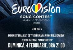 Semifinala Eurovision în direct de pe scena Teatrului Naţional din Craiova