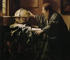 Despre ASTRONOMUL lui Vermeer la Teleenciclopedia