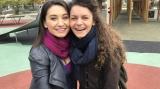 Claudia Spatarescu si Alexandra Fasola