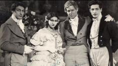 Constantin şi Mihai Lungeanu, tată şi fiu uniţi pe scena vieţii