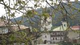 La Mănăstirea Sihla, în Munţii Stânişoarei