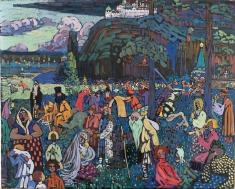 """Vasily Kandinsky: """"Viaţa plină de culoare"""", la Teleenciclopedia"""