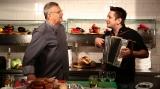 Strunilă şi Dinescu s-au întrecut la gătit raţă pe varză