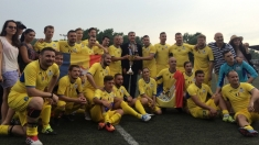 Ospitalitate şi fair-play în meciul amical România Regală vs. Serbia Regală 2018