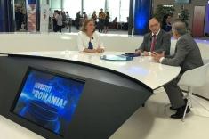 """Ediţie specială din Parlamentul European, la """"Investiţi în România!"""""""