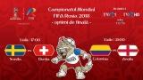 CM FIFA Rusia 2018 continuă la TVR cu faza optimilor
