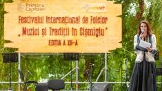 """Iuliana Tudor aduce Festivalul """"Muzici şi Tradiţii în Cişmigiu"""" la TVR 1"""