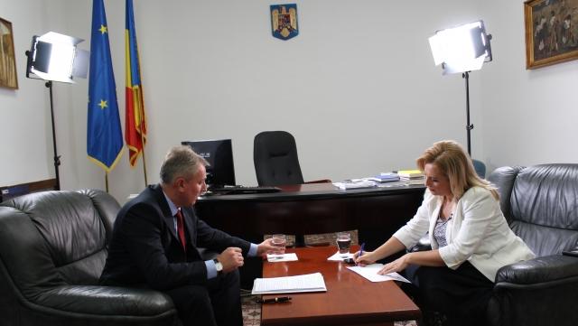 Lucian Bode si Monica Ghiurco