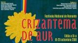 """TVR 3 transmite în direct Festivalul """"Crizantema de aur"""", ediţia 51"""