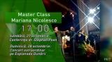 Master Class Mariana Nicolesco - Un an al marilor celebrări, la TVR 3