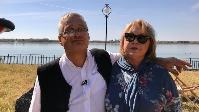 Mircea Dinescu şi Tora Vasilescu