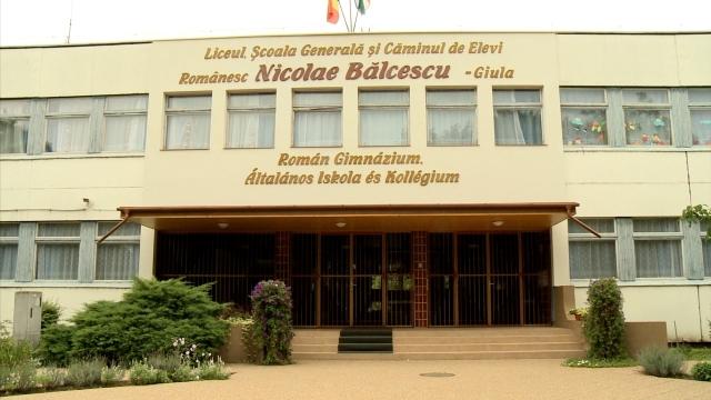 Liceul Nicolae Balcescu din Gyula