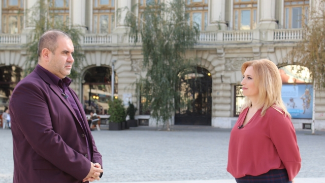 Monica Ghiurco si Mihai Marcoci
