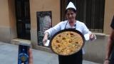 """Echipa """"Cap compas"""" a învățat să prepare paella valenciană"""