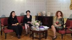În familie cu Alina Mavrodin