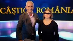 """O tânără nevăzătoare străbate harta """"Câştigă România!"""""""