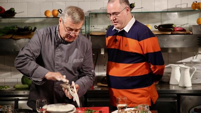 Mircea Dinescu si Bogdan Naumovici
