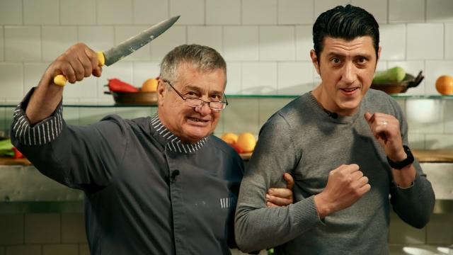 Mircea Dinescu si Constantin Dita