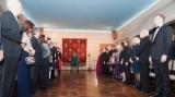 Dineu diplomatic la Casa Regala