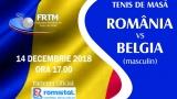 Calificarea la Europenele de tenis de masă se joacă în studiourile TVR