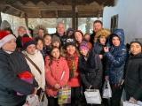 Virgil Ianțu, Moș Crăciun pentru un grup de copii din Doroşcani