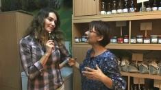 Roșii BIO uscate la borcan în ulei și pastă de ardei iute cu mirodenii de grădină