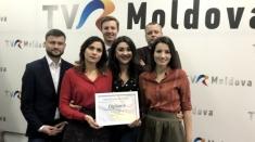 Proiectele TVR MOLDOVA premiate la Gala Clubului de Presă din Chișinău