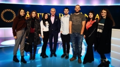 """Studenţii bucureşteni în vizită la """"CÂŞTIGĂ ROMÂNIA!"""""""