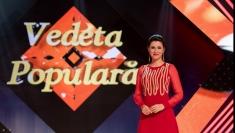 """Iuliana Tudor prezintă la TVR 1 semifinala """"Vedeta populară"""""""
