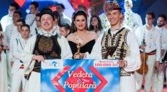 """Premieră: doi tineri au câştigat sezonului 3 """"Vedeta populară"""""""