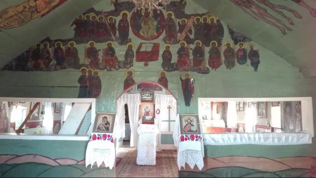 Biserica uitata din Apsa de Mijloc