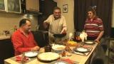 De Sfântul Ion vă invităm la colac frecat cu mere și friptură la frisoare