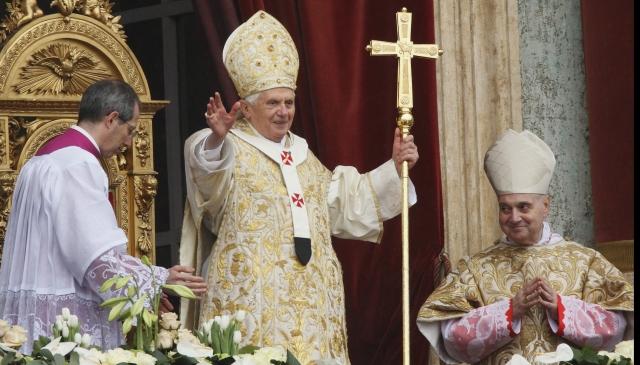 Despre retragerea Papei Benedict al XVI-lea, la TVR 1