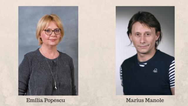 Emilia Popescu Marius Manole