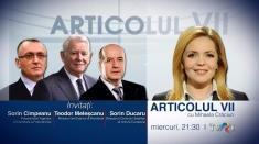 """""""Articolul VII"""" vine cu o ediţie specială de Ziua Francofoniei, la TVRi"""