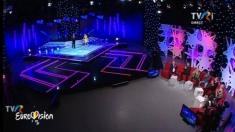 Galele de susținere a României la Eurovision continuă la TVRi