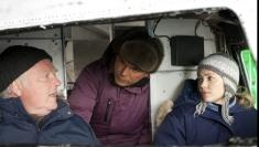 Tată şi fiică, protagonişti în serialul de aventuri Aripile Nordului, la TVR 1
